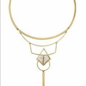 Stella & Dot Mondrian Collar Necklace